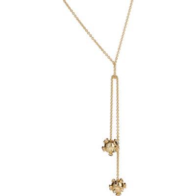 Alexis Bittar Double Sputnik Knot Y-Necklace