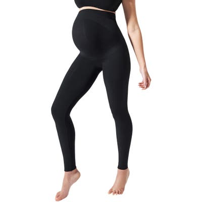 Blanqi Everyday Maternity Belly Support Leggings, Black