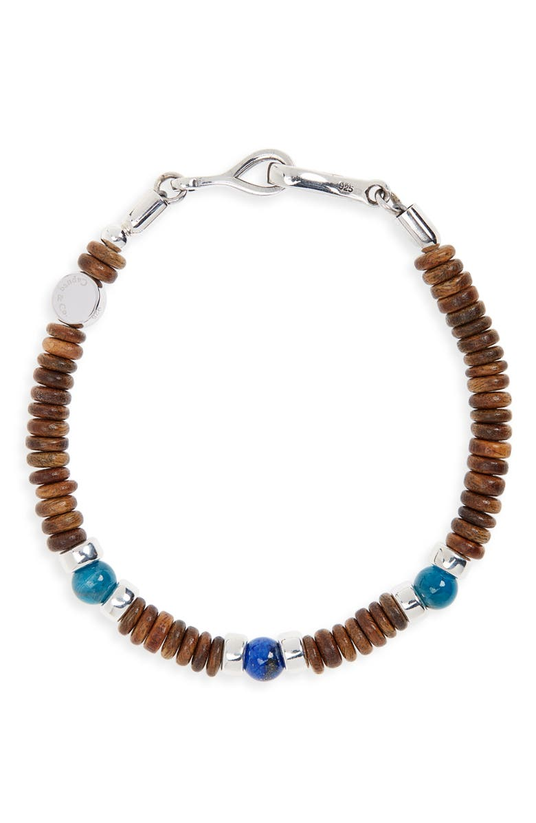 CAPUTO & CO. Rondelle Bead Bracelet, Main, color, 239