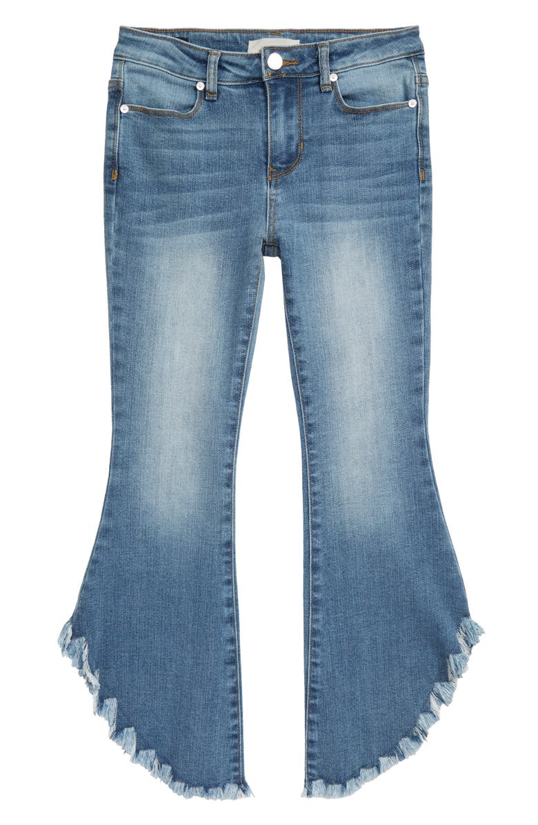 HABITUAL Isabelle Fray Hem Jeans, Main, color, 425