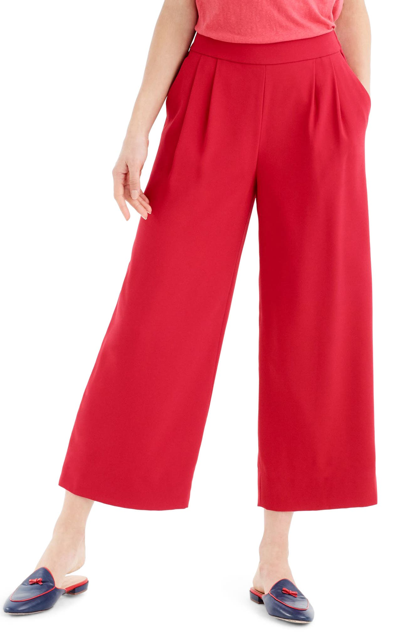 ,                             Wide Leg Crop Pants,                             Main thumbnail 11, color,                             600
