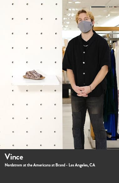 Gracey Slide Sandal, sales video thumbnail