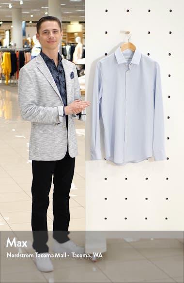 Coolidge Blue Trim Fit Check Shirt, sales video thumbnail