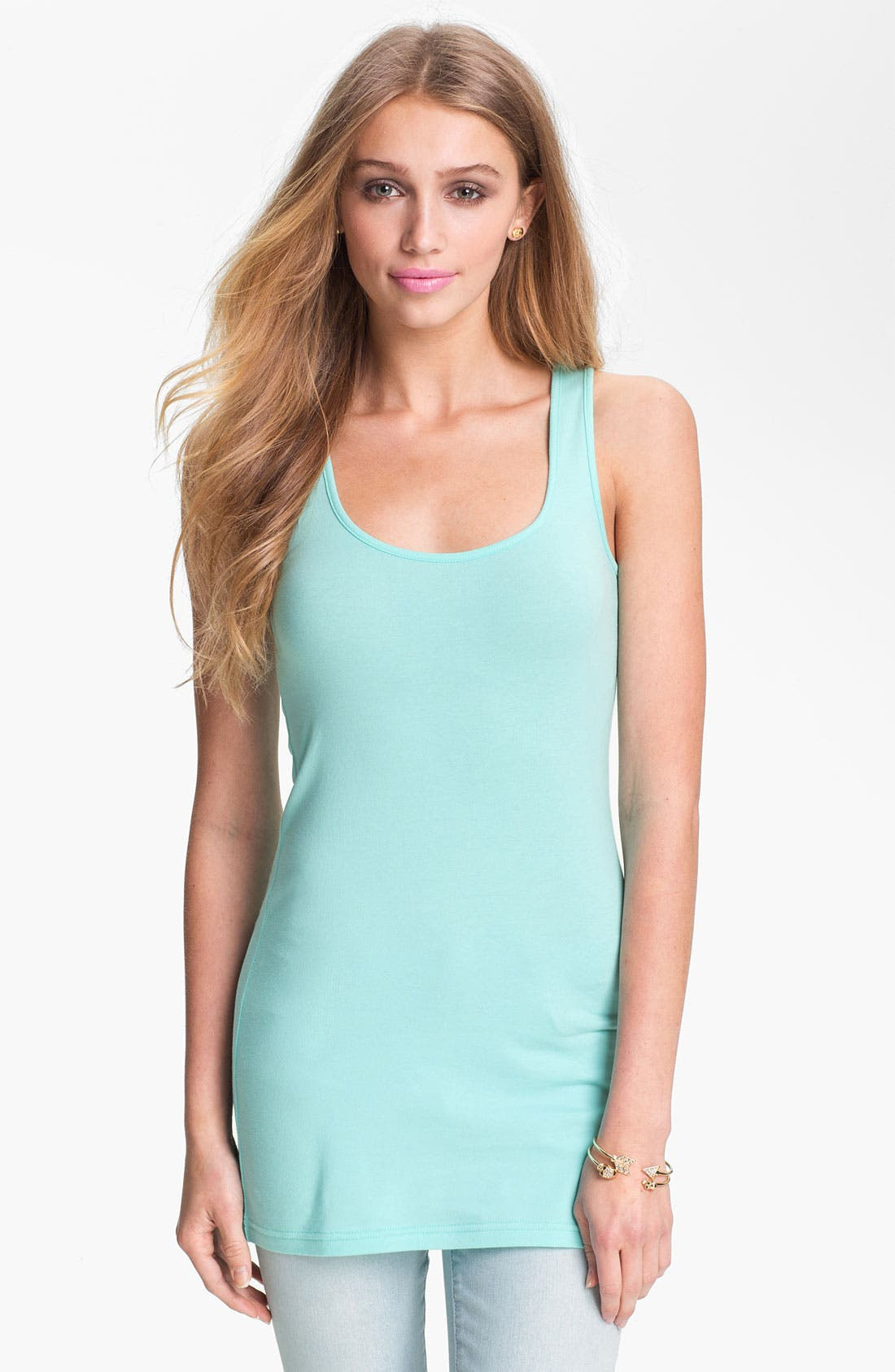 ,                             Double Scoop Neck Tank,                             Alternate thumbnail 126, color,                             318