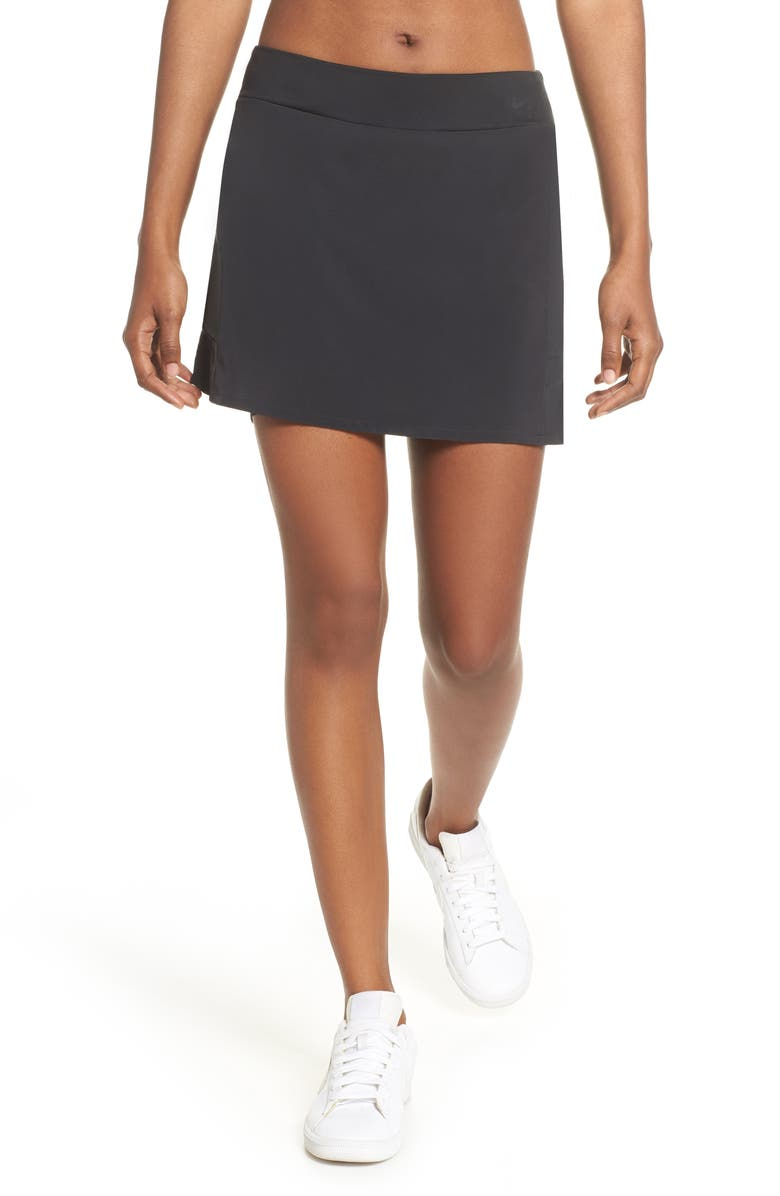 NIKE Flex Dri-FIT Ruffle Golf Skirt, Main, color, 010