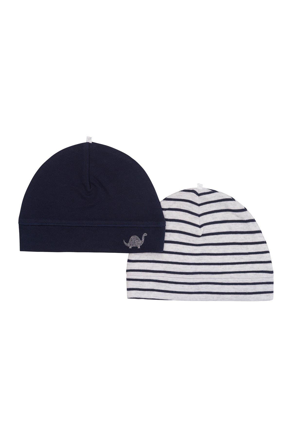 Image of Petit Lem Organic Baby Hats - Pack of 2