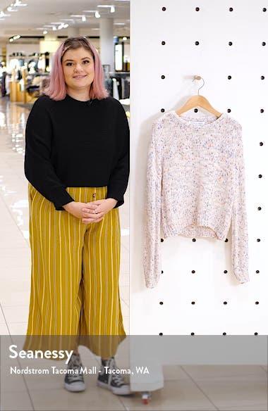 Arnhem Speckle Sweater, sales video thumbnail