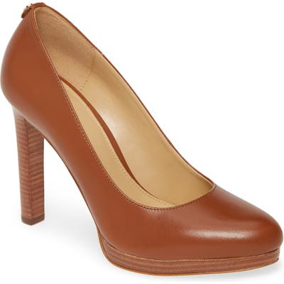 Michael Michael Kors Ethel Platform Pump, Brown