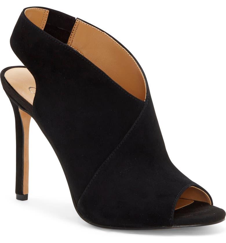 JESSICA SIMPSON Jourie 2 Sandal, Main, color, BLACK SUEDE