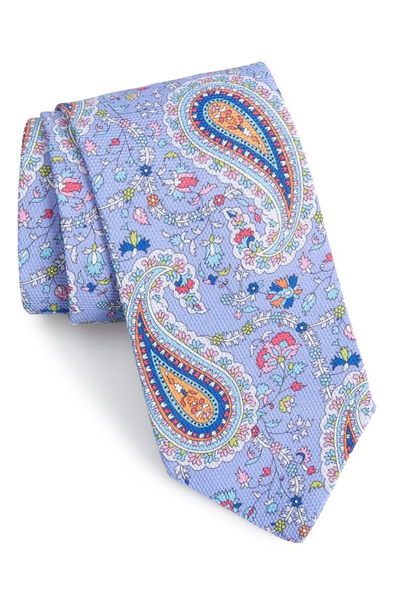 Eton Paisley Cotton Tie