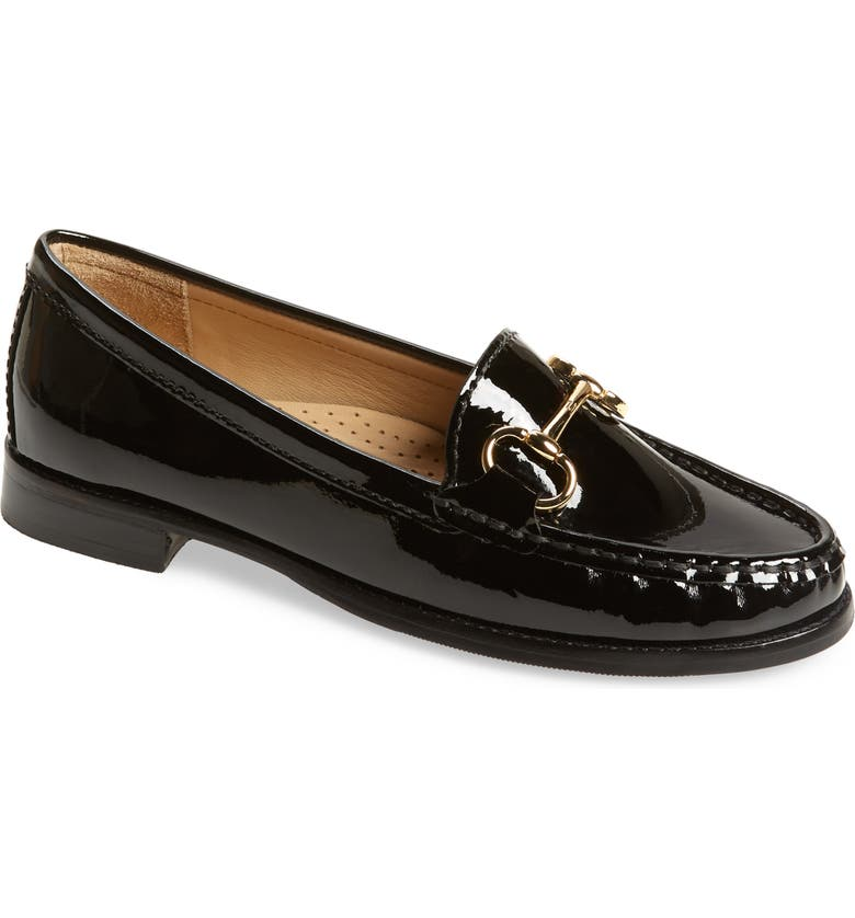 CARVELA COMFORT Click Loafer, Main, color, BLACK PATENT LEATHER