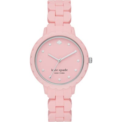 Kate Spade New York Morningside Silicone Strap Watch,