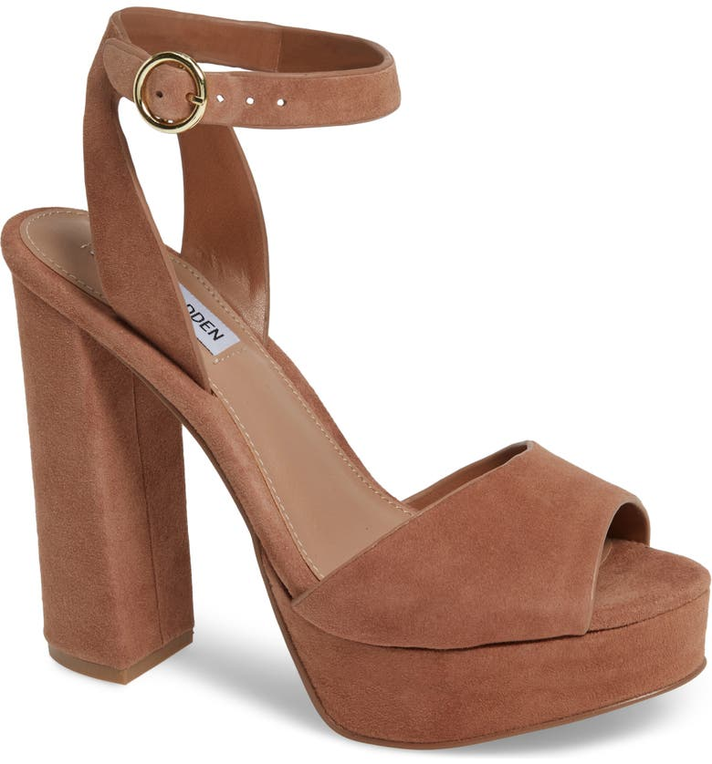 STEVE MADDEN Jes Platform Sandal, Main, color, 230