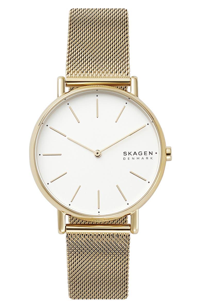 Skagen Signatur Mesh Strap Watch 38mm