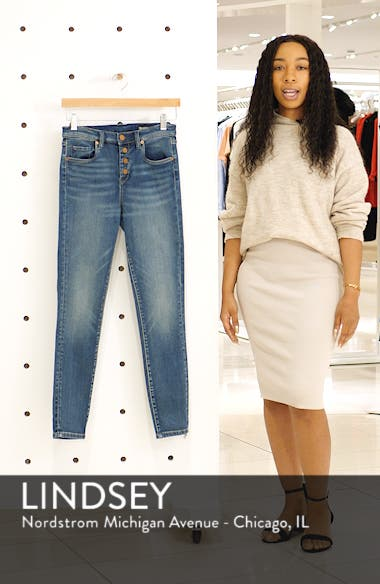 Button Fly Skinny Jeans, sales video thumbnail