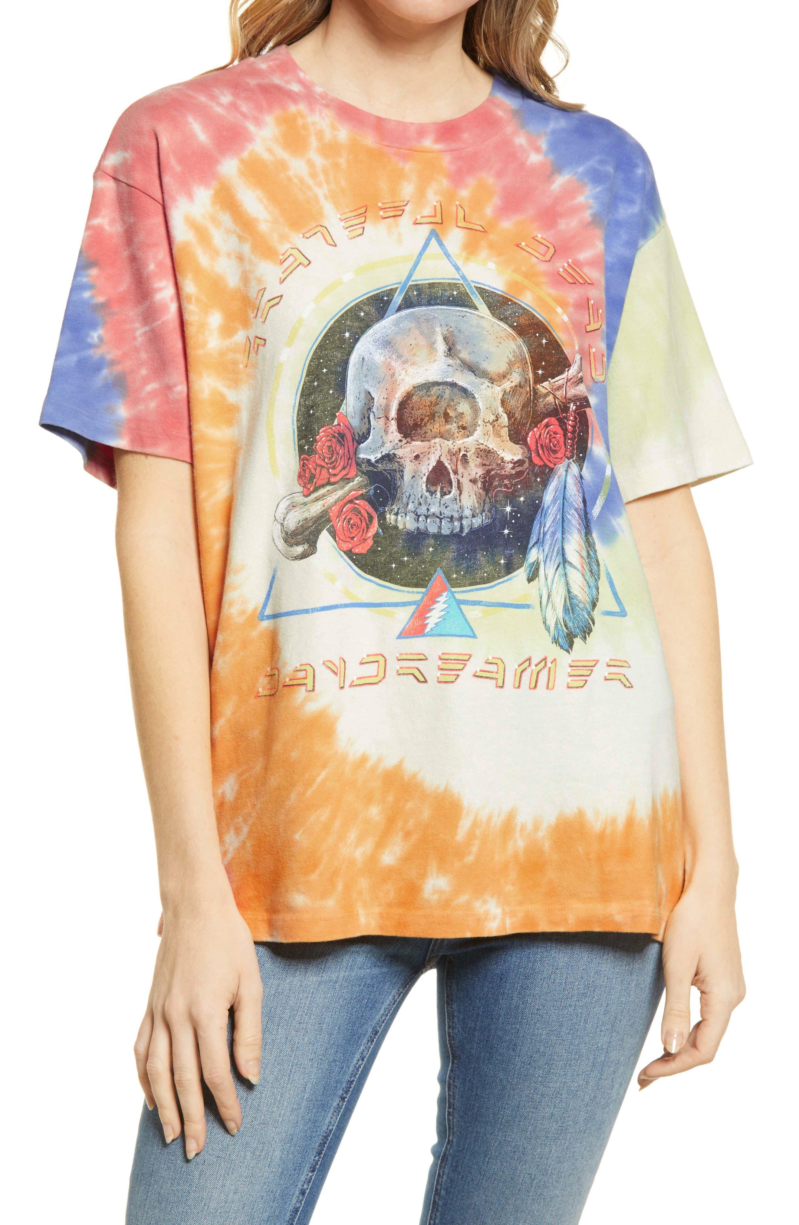 Grateful Dead Cyclops Weekend Tie Dye Graphic Tee