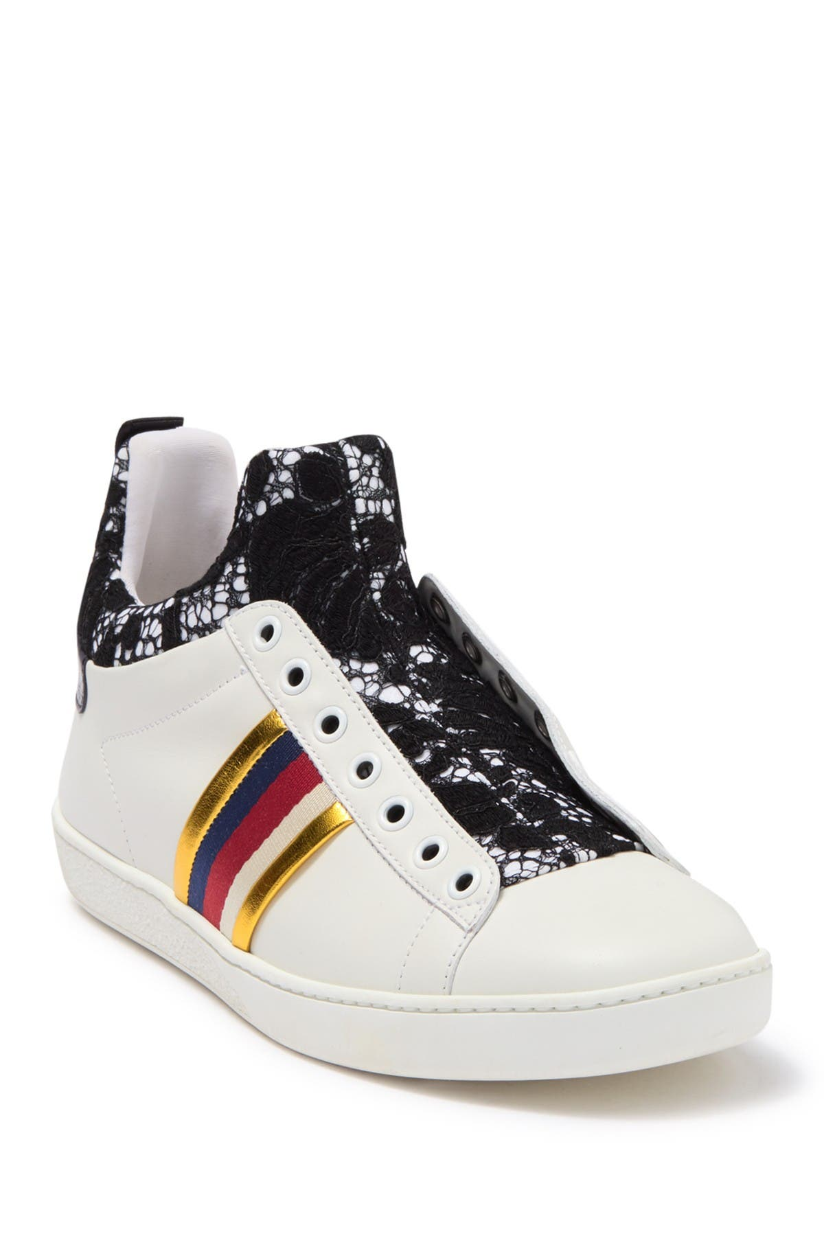 GUCCI | Ace Lace High Top Sneaker