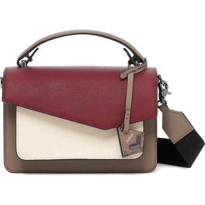 Botkier Cobble Hill Leather Crossbody Bag - Burgundy