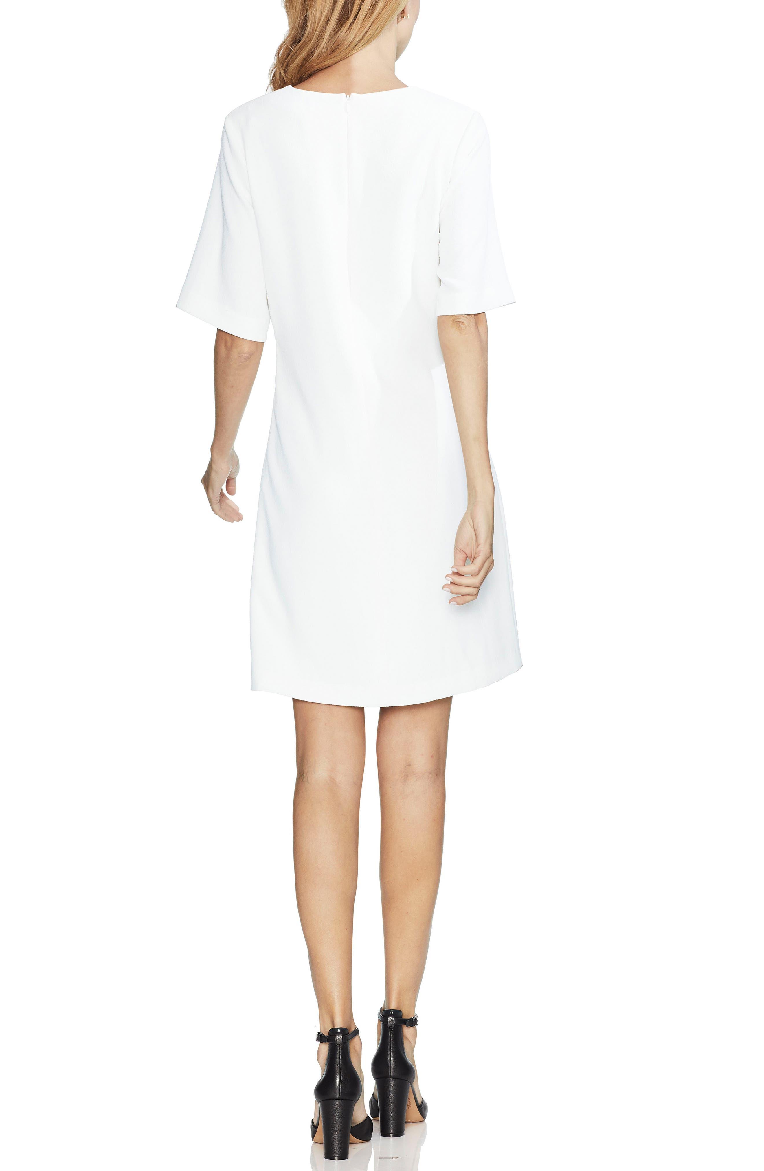 ,                             Belted Crepe Dress,                             Alternate thumbnail 6, color,                             904