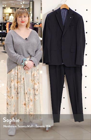 Roger Trim Fit Wool Suit, sales video thumbnail