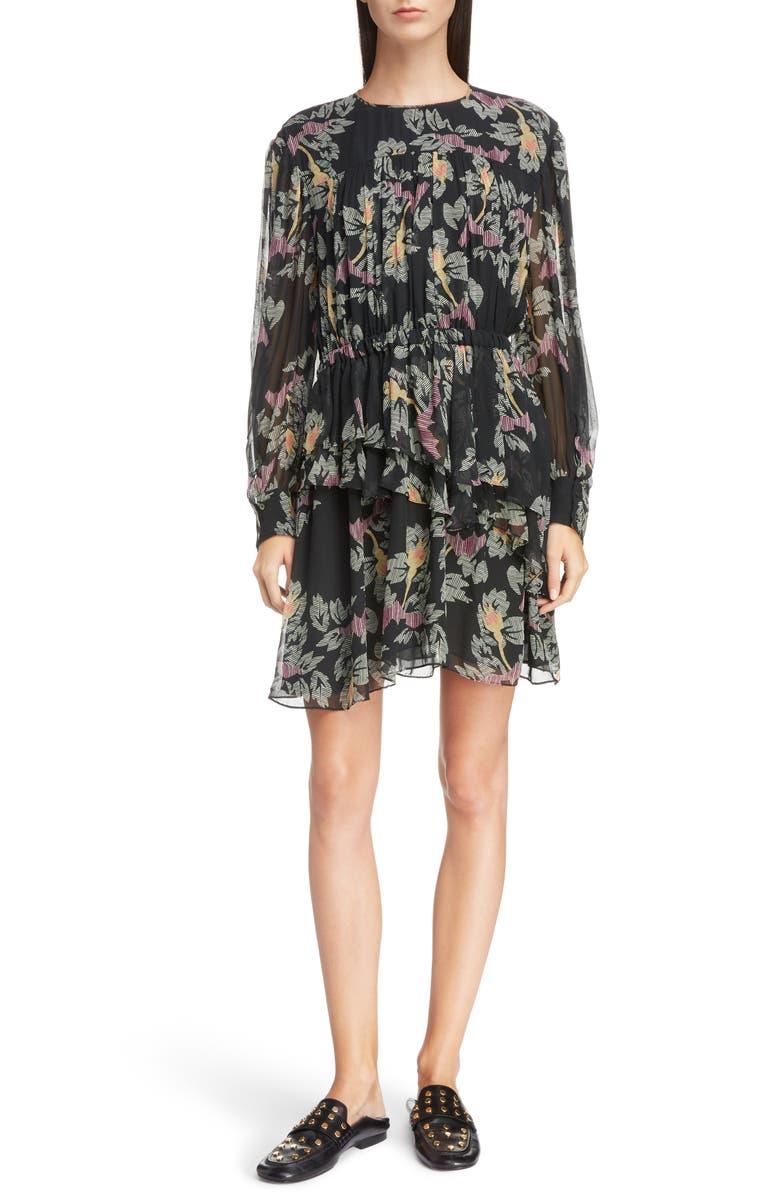 Isabel Marant étoile Java Floral Print Dress Nordstrom