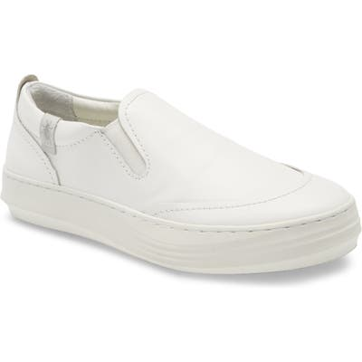 Fly London Cezi Platform Sneaker - White