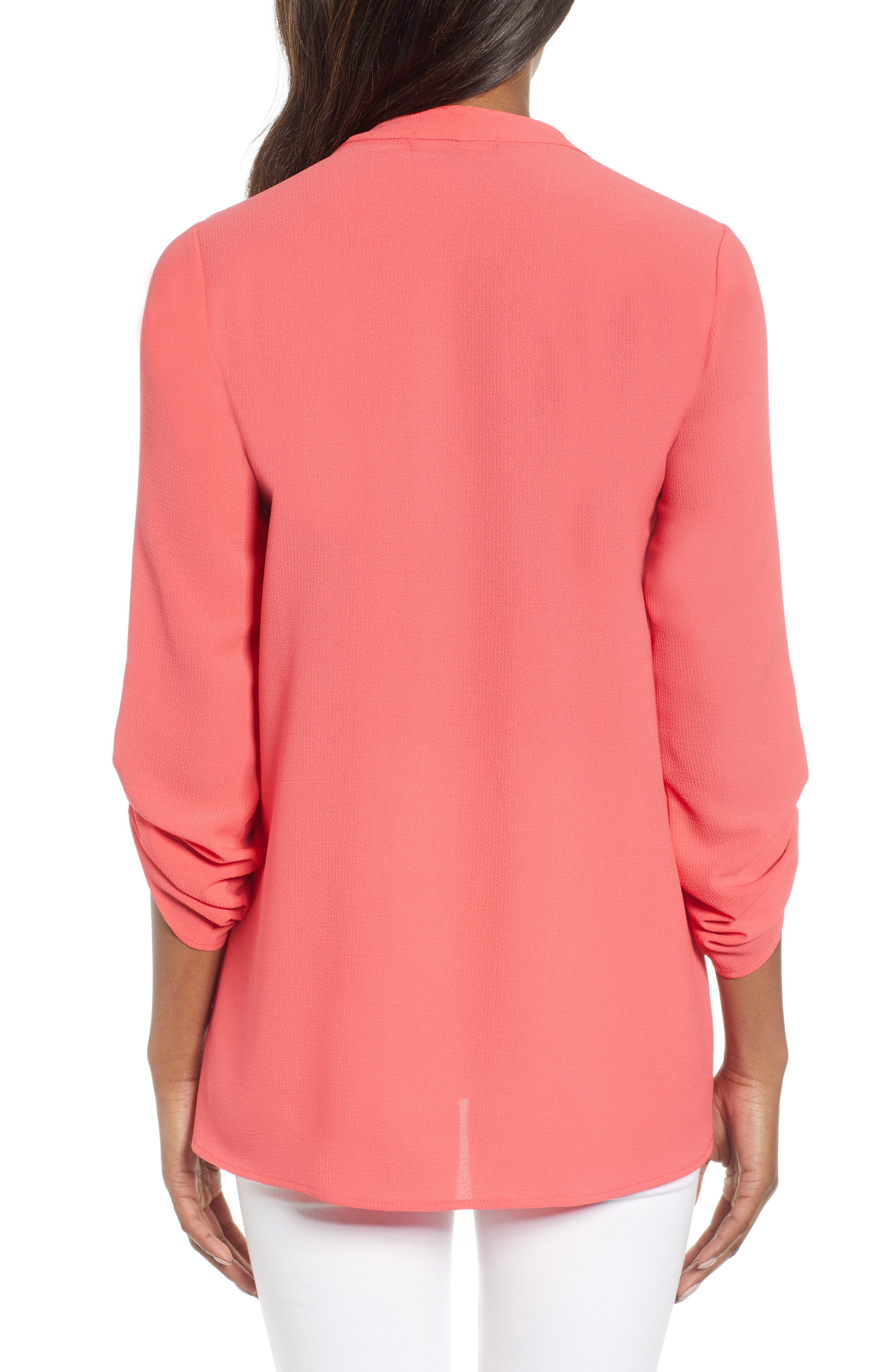 ,                             x International Women's Day Erin Cross Front Tunic Blouse,                             Alternate thumbnail 61, color,                             650