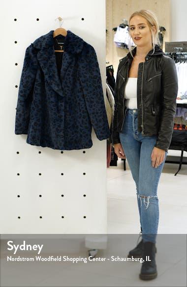 Faux Leopard Fur Jacket, sales video thumbnail