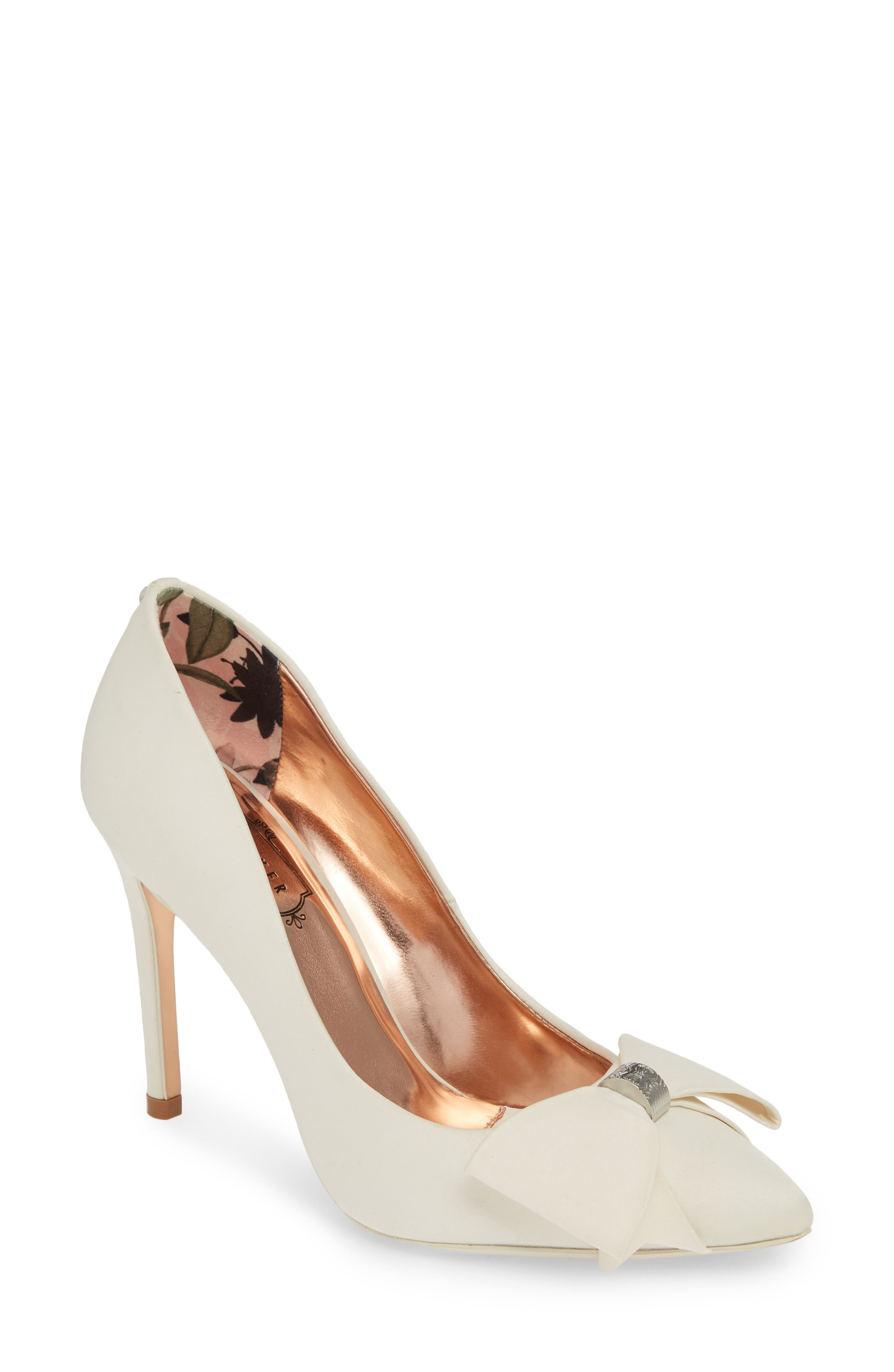 Ted Baker London Asellys Pump - Ivory