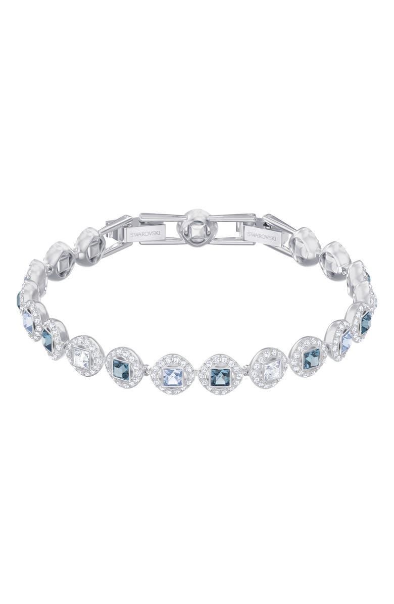 SWAROVSKI Angelic Crystal Bracelet, Main, color, MULTI/ SILVER