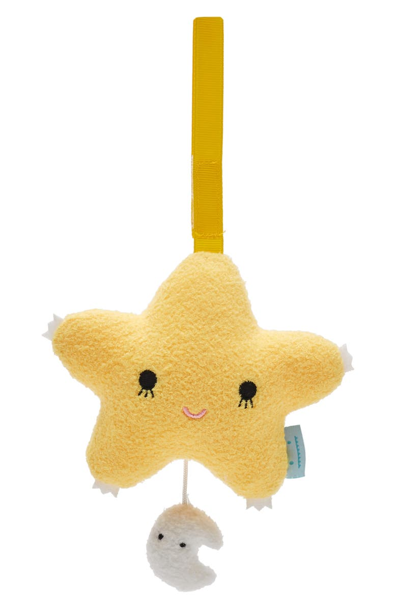 NOODOLL Ricetwinkle Star Plush Musical Mobile, Main, color, 700