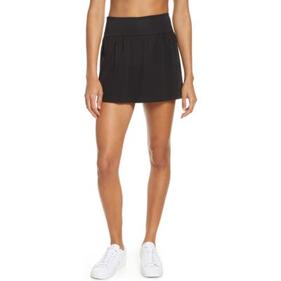 Spanx Booty Boost Double Layer Skort, Black