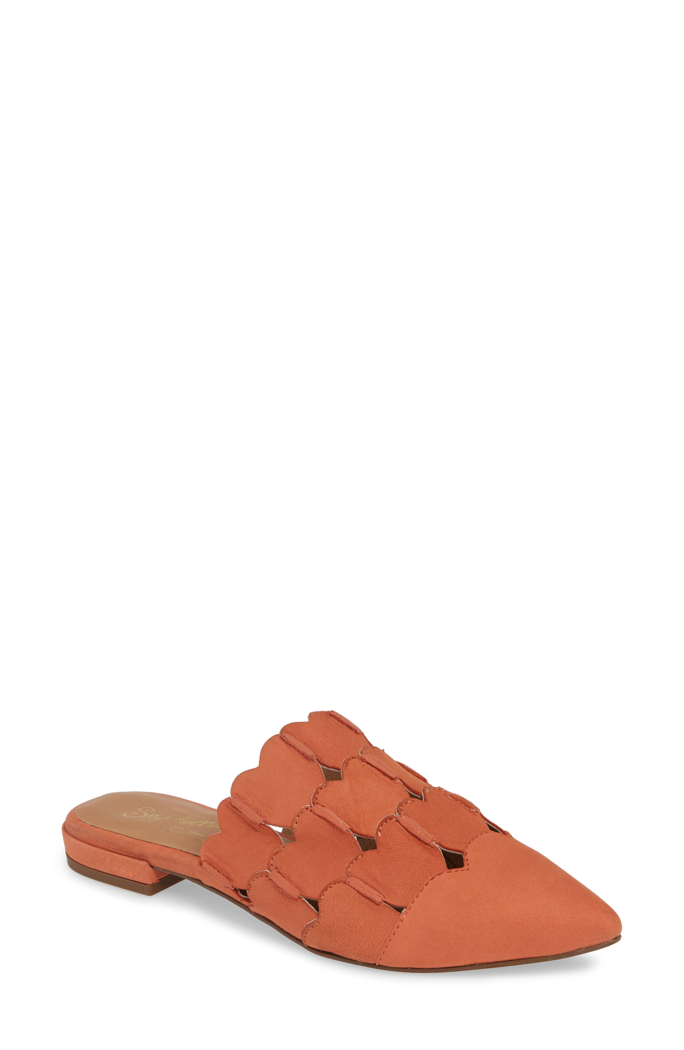 Seychelles Reminders Of You Heart Mule, Coral