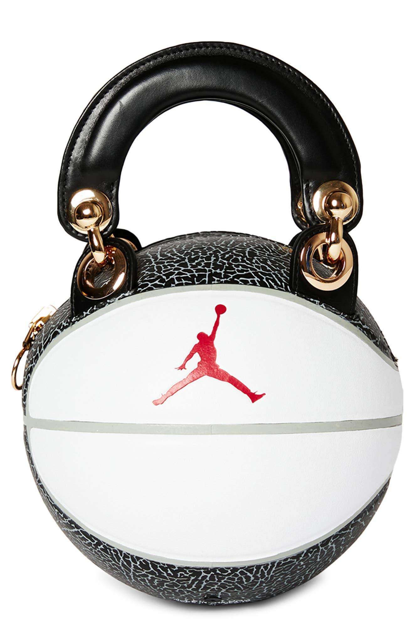 Mini Basketball Top Handle Bag