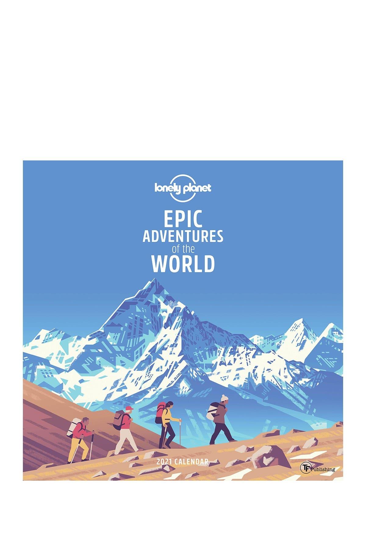 Image of TF Publishing 2021 Epic Adventures Wall Calendar