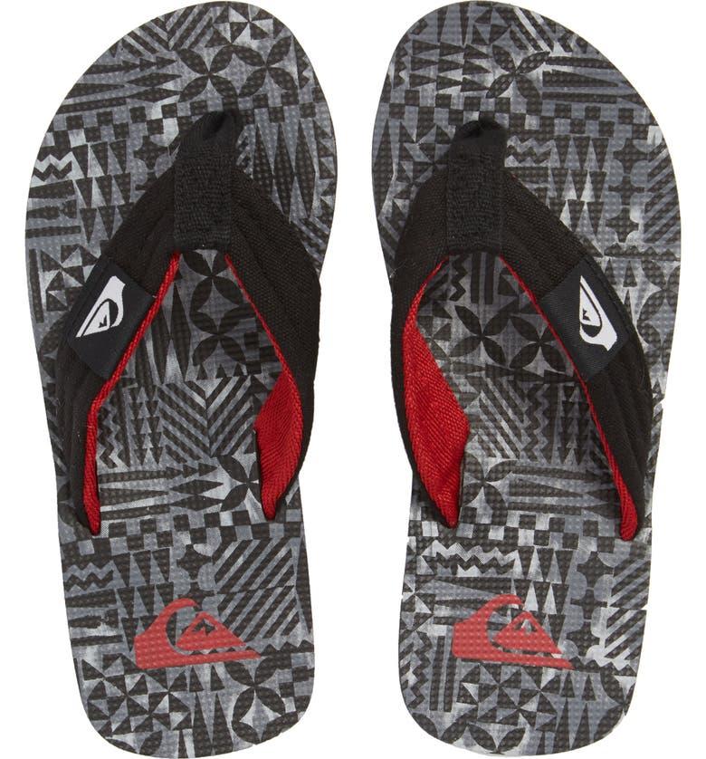 QUIKSILVER Molokai Layback Flip Flop, Main, color, 002
