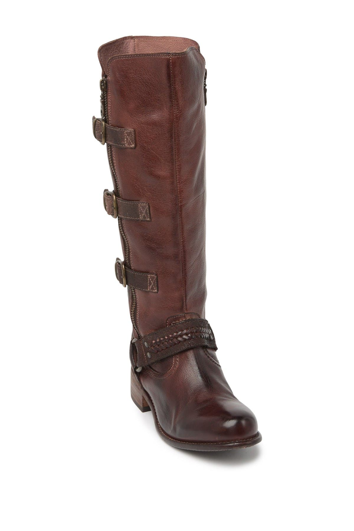 Image of Bed|Stu Skyla Buckle Leather Boot