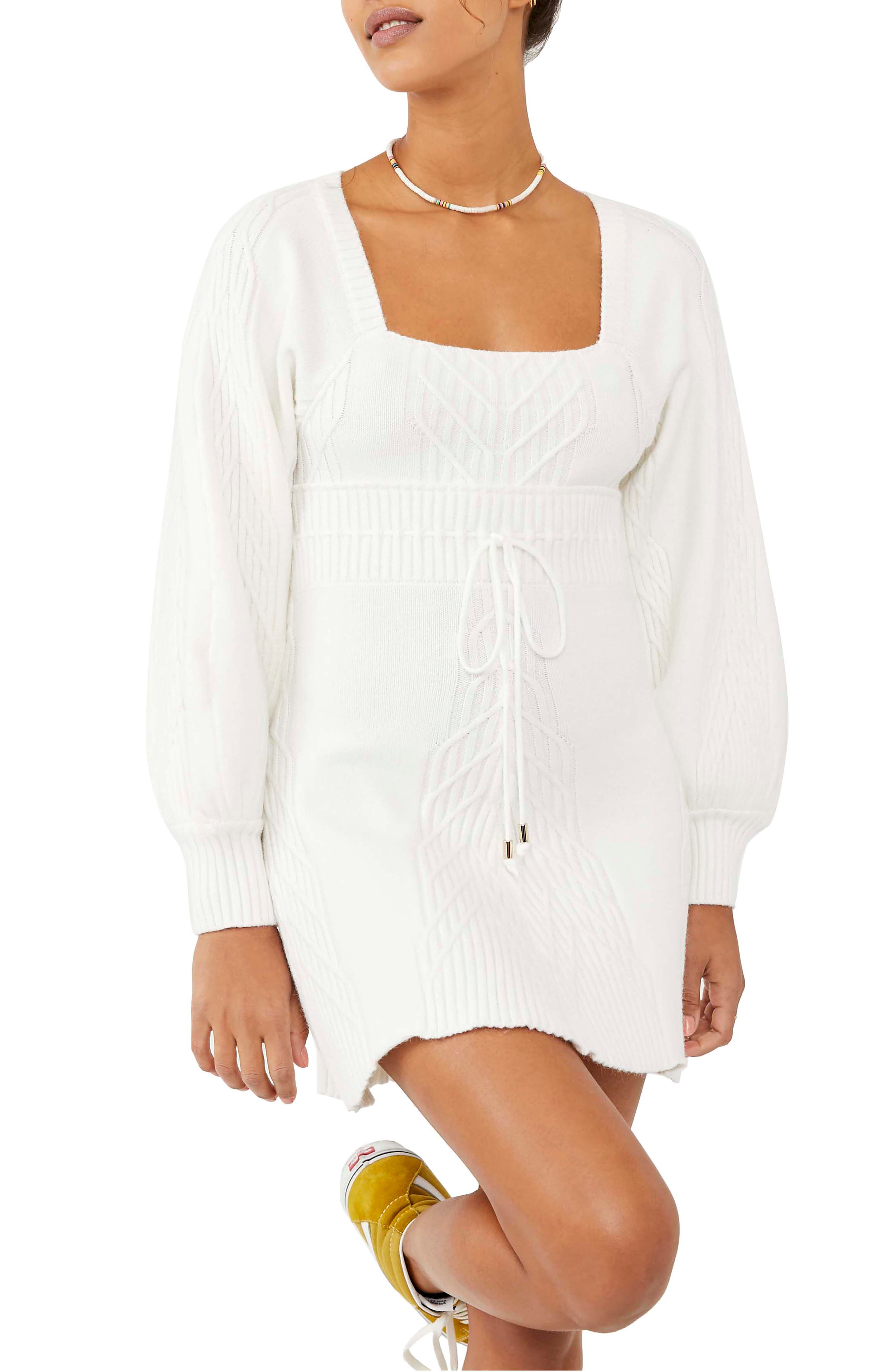 Emmaline Long Sleeve Sweater Dress