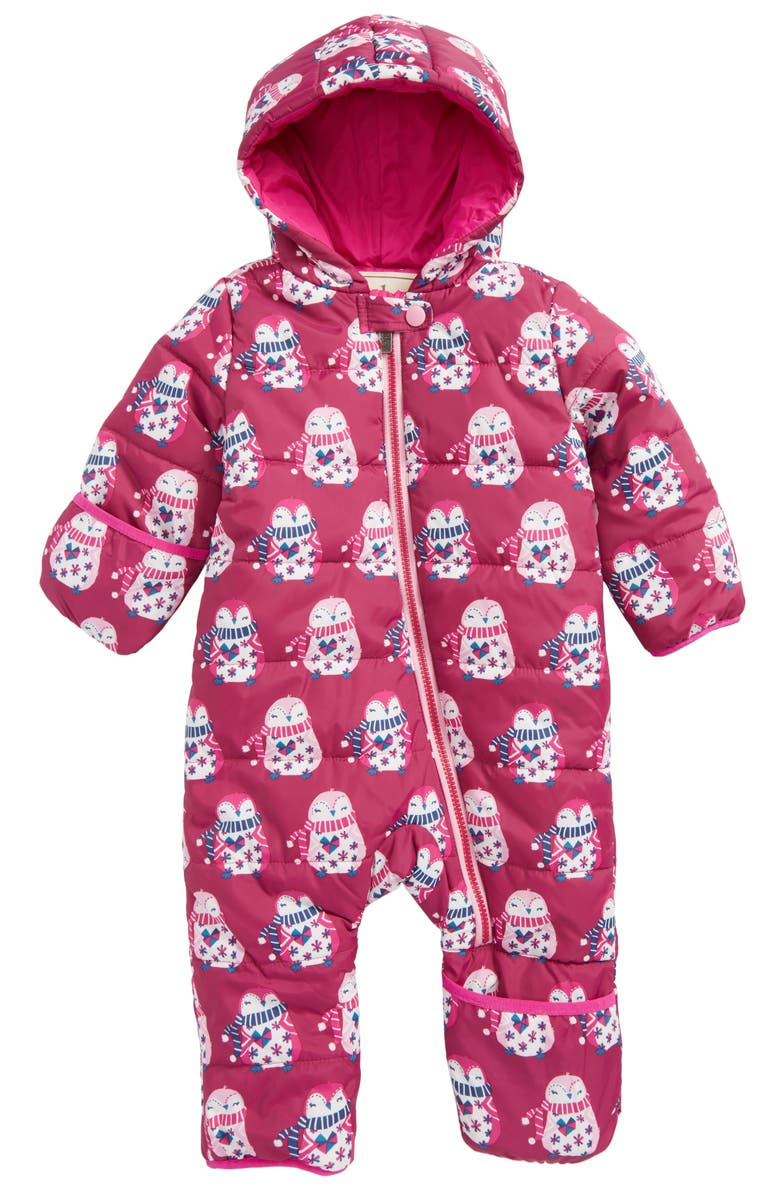 HATLEY Winter Bundler Quilted Water-Resistant Hooded Snowsuit, Main, color, 650