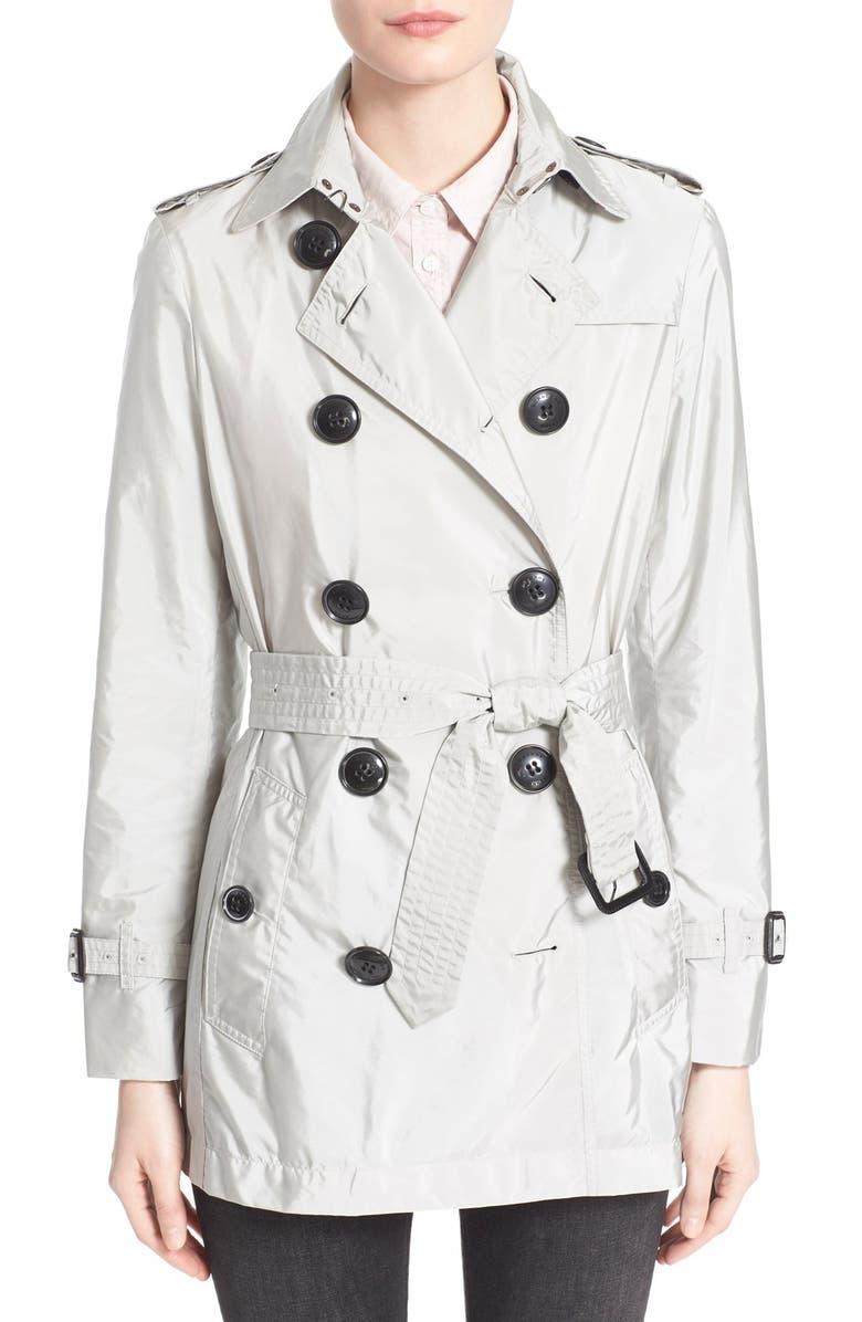 BURBERRY Brit 'Kerringdale' Belted Trench Coat, Main, color, 053