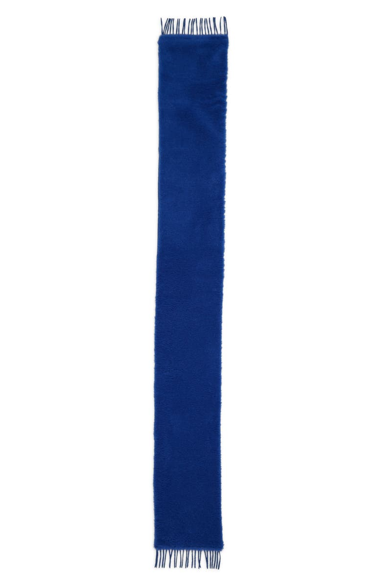 MAX MARA Allegra Teddy Scarf, Main, color, CORNFLOWER BLUE