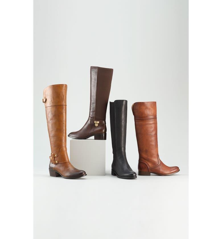 MICHAEL MICHAEL KORS 'Hamilton' Boot, Main, color, 002