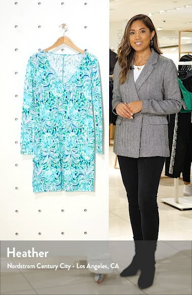 Davie Floral Long Sleeve Dress, sales video thumbnail
