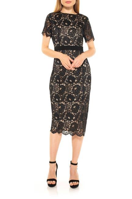Image of Alexia Admor Delora Lace Sheath Dress