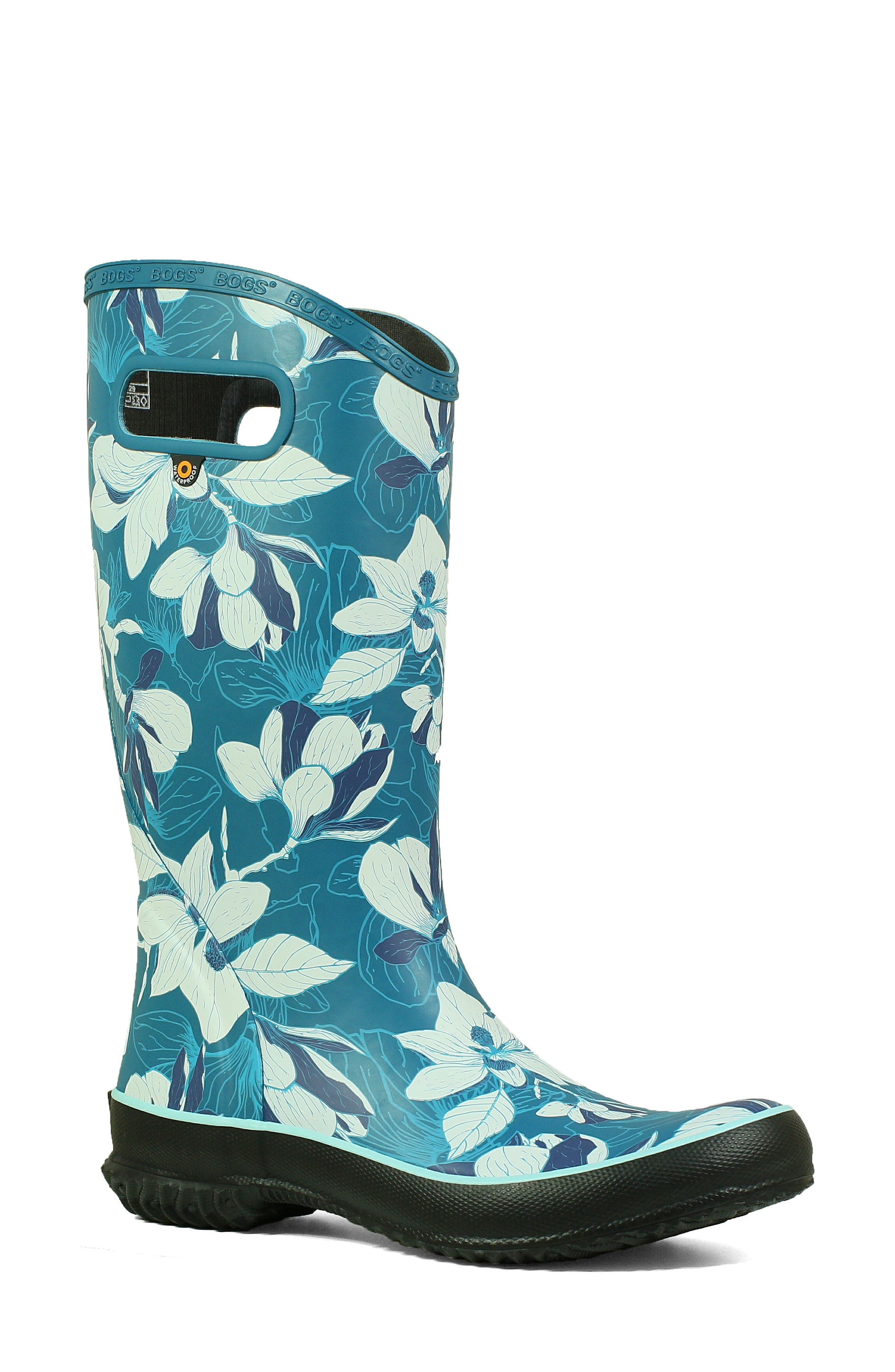 Bogs Classic Tall Waterproof Rain Boot, Blue