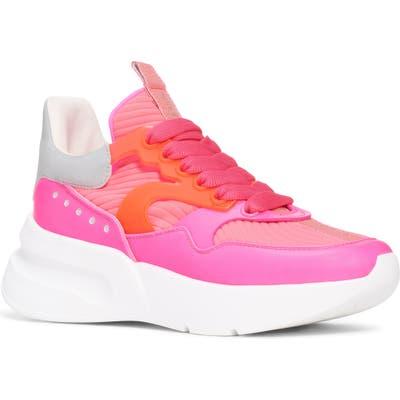 Alexander Mcqueen Platform Sneaker, Pink