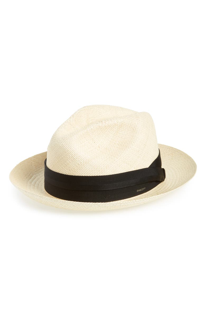 BAILEY Cuban Straw Hat, Main, color, NATURAL