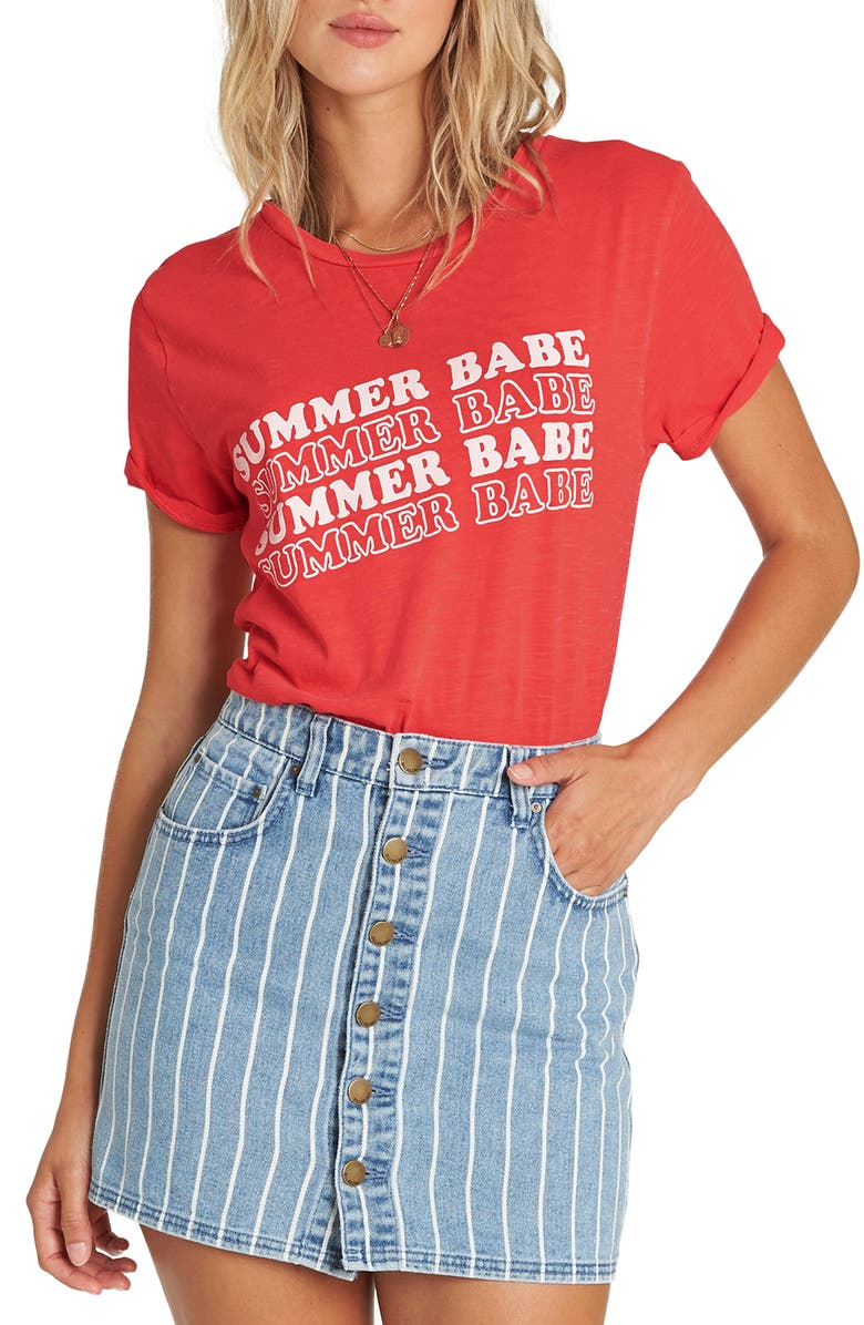 4701cb34 Billabong Babe All Day Graphic Tee | Nordstrom