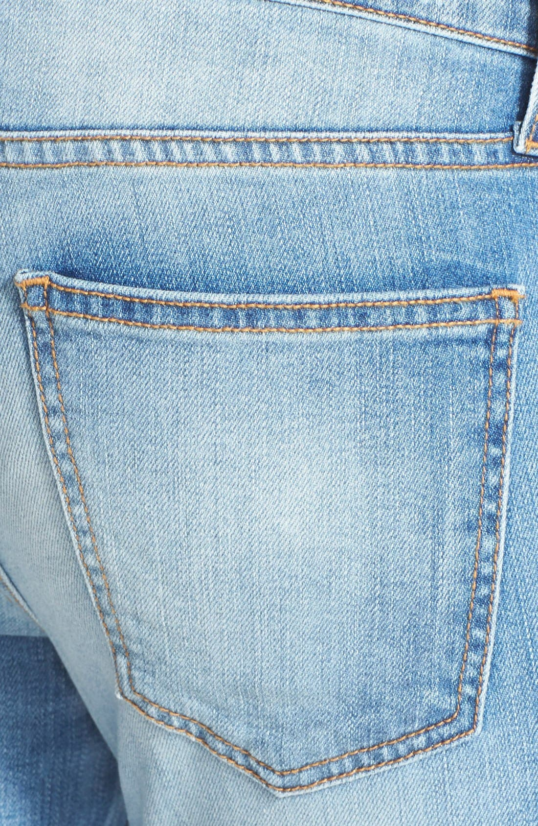 ,                             'The Stiletto' Destroyed Skinny Jeans,                             Alternate thumbnail 21, color,                             472