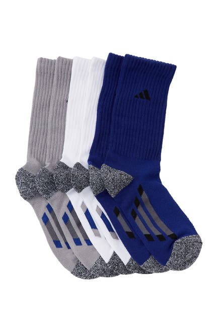 Image of adidas Climalite Crew Socks - Pack of 6